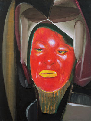 Victor Mugler (the Legacy, Nr 53) --- oil on canvas --- 30,5 cm  x 40,6 cm --- 2020