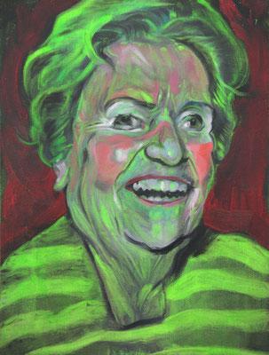 Stella Mulholland (the Legacy, Nr 73) --- oil on canvas --- 30,5 cm  x 40,6 cm --- 2020