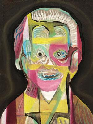 Elena Einstein, (the Legacy, Nr 42) --- oil on canvas --- 30,5 cm  x 40,6 cm --- 2019