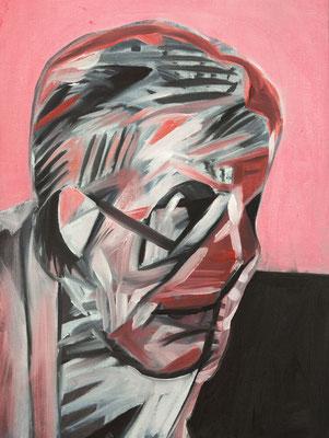 Marianne Bullock (the Legacy, Nr 63) --- oil on canvas --- 30,5 cm  x 40,6 cm --- 2020