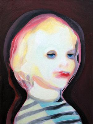 Albert Angelo, (the Legacy, Nr 46) --- oil on canvas --- 30,5 cm  x 40,6 cm --- 2019