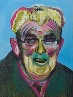 Henk van den Ende (the Legacy, Nr 90) --- oil on canvas --- 30,5 cm x 40,6 cm --- 2021