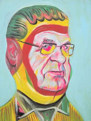 Elton Simpson (the Legacy, Nr 78) --- oil on canvas --- 30,5 cm  x 40,6 cm --- 2020