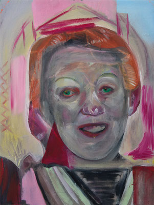 Ginger Griffith (the Legacy, Nr 89) --- oil on canvas --- 30,5 cm x 40,6 cm --- 2021