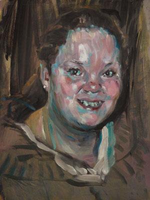 Jacky Rubens, (the Legacy, Nr 10) --- oil on  canvas --- 30,5 cm  x 40,6 cm --- 2017