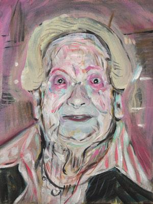 Emma Westwood, (the Legacy, Nr 11) --- oil on  canvas ---  30,5 cm  x 40,6 cm --- 2018