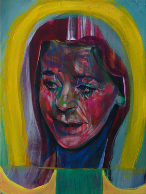 Trijntje Leandros (the Legacy, Nr 81) --- oil on canvas --- 30,5 cm x 40,6 cm --- 2021