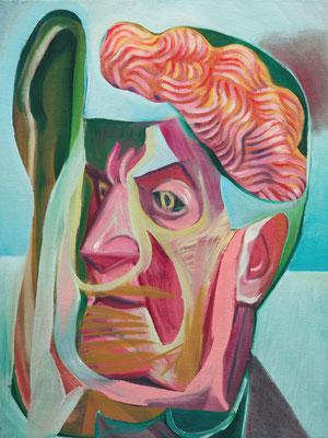 Sigrid Parr, (the Legacy, Nr 47) --- oil on canvas --- 30,5 cm  x 40,6 cm --- 2019