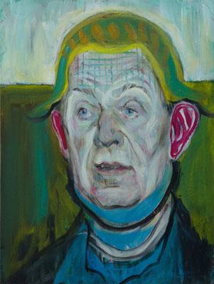 Charles Grant (the Legacy, Nr 83) --- oil on canvas --- 30,5 cm x 40,6 cm --- 2021