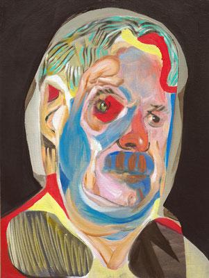Engelbert Maduro, (the Legacy, Nr 43) --- oil on canvas --- 30,5 cm  x 40,6 cm --- 2019