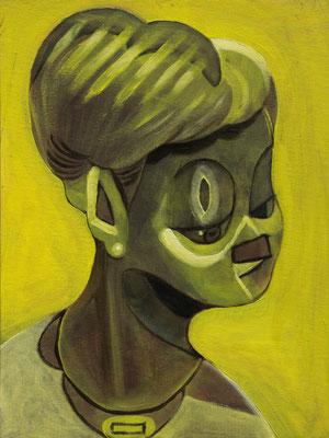 Lizzy Hepburn, (the Legacy, Nr 44) --- oil on canvas --- 30,5 cm  x 40,6 cm --- 2019