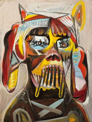 Snoop Doggy Smith (the Legacy, Nr 67) --- oil on canvas --- 30,5 cm  x 40,6 cm --- 2020
