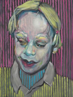 Boy Culkin, (the Legacy, Nr 27) --- oil on  canvas ---  30,5 cm  x 40,6 cm --- 2019