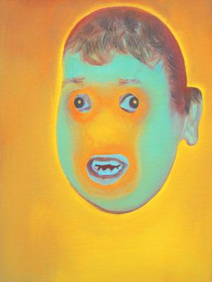 Djibril Hernandez (the Legacy, Nr 56) --- oil on canvas --- 30,5 cm  x 40,6 cm --- 2020