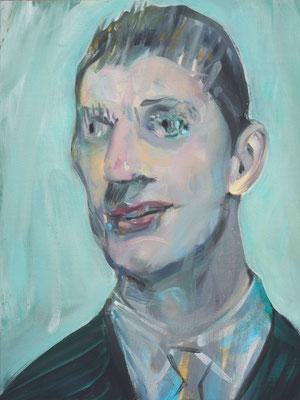 Levi Cruise, (the Legacy, Nr 25) --- oil on  canvas ---  30,5 cm  x 40,6 cm --- 2019