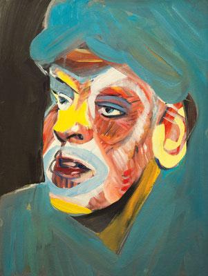 Ruby Germanotta (the Legacy, Nr 69) --- oil on canvas --- 30,5 cm  x 40,6 cm --- 2020