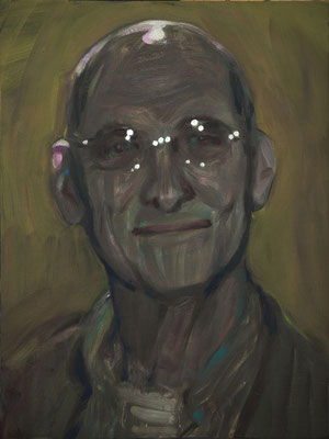 Arjan Mulisch, (the Legacy, Nr 23) --- oil on  canvas ---  30,5 cm  x 40,6 cm --- 2018
