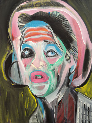 Elisabeth Paradis (the Legacy, Nr 70) --- oil on canvas --- 30,5 cm  x 40,6 cm --- 2020
