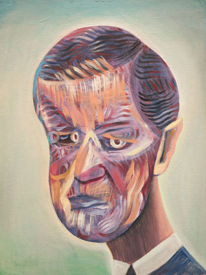 Eric Rutte, (the Legacy, Nr 48) --- oil on canvas --- 30,5 cm  x 40,6 cm --- 2019