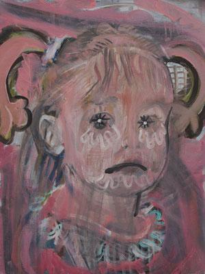 Marie Louise Basquiat, (the Legacy, Nr 29) --- oil on  canvas ---  30,5 cm  x 40,6 cm --- 2019