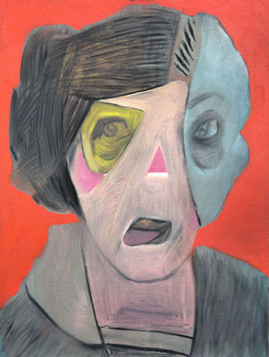 Jane Tomlin (the Legacy, Nr 60) --- oil on canvas --- 30,5 cm  x 40,6 cm --- 2020