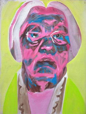 Els Verbeet (the Legacy, Nr 51) --- oil on canvas --- 30,5 cm  x 40,6 cm --- 2020