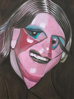 Susan Fergason (the Legacy, Nr 59) --- oil on canvas --- 30,5 cm  x 40,6 cm --- 2020