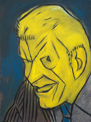 John Reagan (the Legacy, Nr 57) --- oil on canvas --- 30,5 cm  x 40,6 cm --- 2020