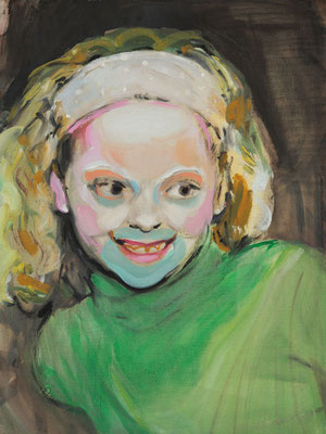 Kylie Dumas, (the Legacy, Nr 12) --- oil on  canvas ---  30,5 cm  x 40,6 cm --- 2018