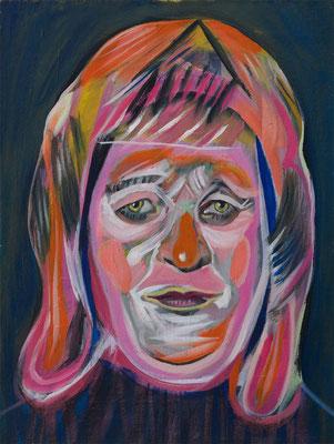 Amanda Bridges (the Legacy, Nr 86) --- oil on canvas --- 30,5 cm x 40,6 cm --- 2021