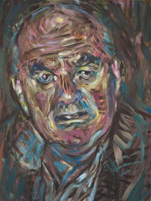 Boris Gorbachev, (the Legacy, Nr 24) --- oil on  canvas ---  30,5 cm  x 40,6 cm --- 2018