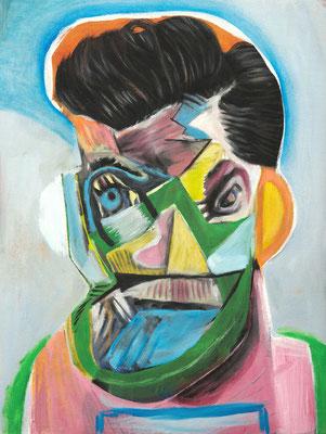 Michel de Toulouse Lautrec (the Legacy, Nr 68) --- oil on canvas --- 30,5 cm  x 40,6 cm --- 2020