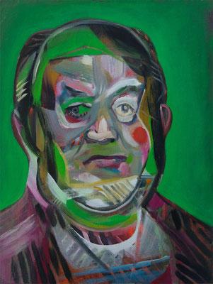 Michail Fry (the Legacy, Nr 82) --- oil on canvas --- 30,5 cm x 40,6 cm --- 2021