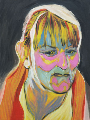 Ingrid Grieg (the Legacy, Nr 58) --- oil on canvas --- 30,5 cm  x 40,6 cm --- 2020