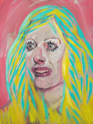 Mathilde Fawcett, (the Legacy, Nr 30) --- oil on  canvas ---  30,5 cm  x 40,6 cm --- 2019
