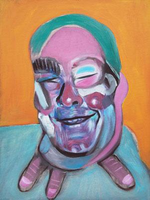 Antoine the Baptist (the Legacy, Nr 55) --- oil on canvas --- 30,5 cm  x 40,6 cm --- 2020