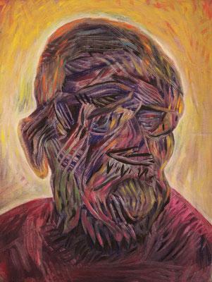 Kwabena van Gogh (the Legacy, Nr 66) --- oil on canvas --- 30,5 cm  x 40,6 cm --- 2020