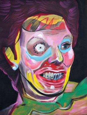 Sophia McDonald (the Legacy, Nr 80) --- oil on canvas --- 30,5 cm  x 40,6 cm --- 2021