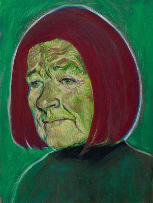Catherine Zeta Thompson (the Legacy, Nr 84) --- oil on canvas --- 30,5 cm x 40,6 cm --- 2021