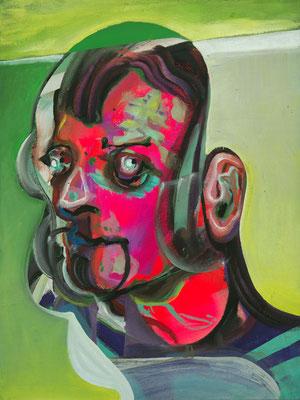 Sebastian Lennon, (the Legacy, Nr 37) --- oil on  canvas ---  30,5 cm  x 40,6 cm --- 2019