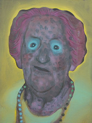 Julia Wilde (the Legacy, Nr 52) --- oil on canvas --- 30,5 cm  x 40,6 cm --- 2020