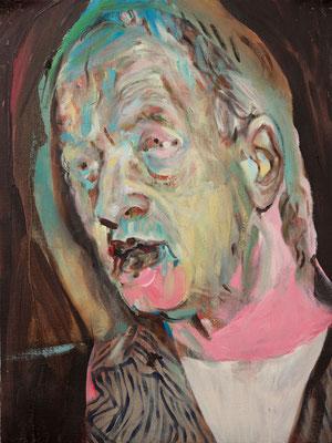 Dick Emin, (the Legacy, Nr 15) --- oil on  canvas ---  30,5 cm  x 40,6 cm --- 2018
