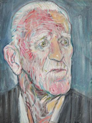 Ernst Newman, (the Legacy, Nr 17) --- oil on  canvas ---  30,5 cm  x 40,6 cm --- 2018