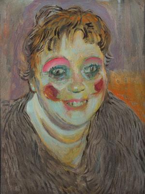 Anita Appel, (the egacy, Nr 8) --- oil on  canvas ---  30,5 cm  x 40,6 cm--- 2017