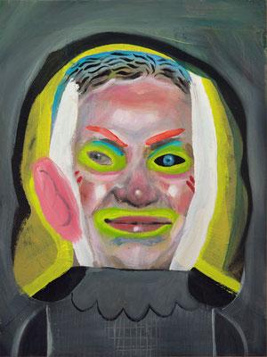 Heike Schwarzenegger, (the Legacy, Nr 34) --- oil on  canvas ---  30,5 cm  x 40,6 cm --- 2019