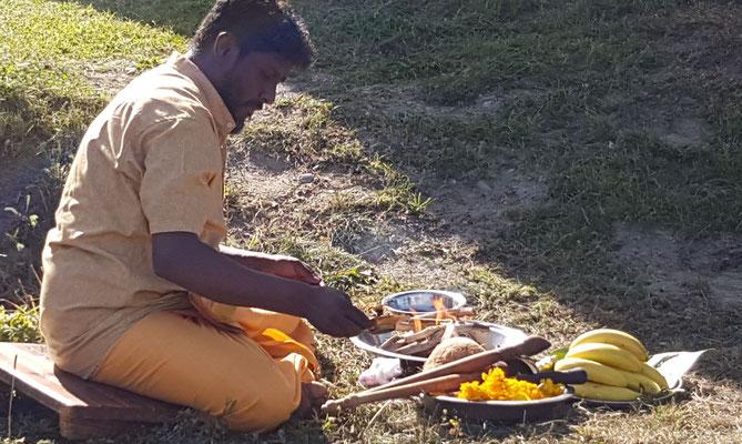Hindu Feuerzeremonie