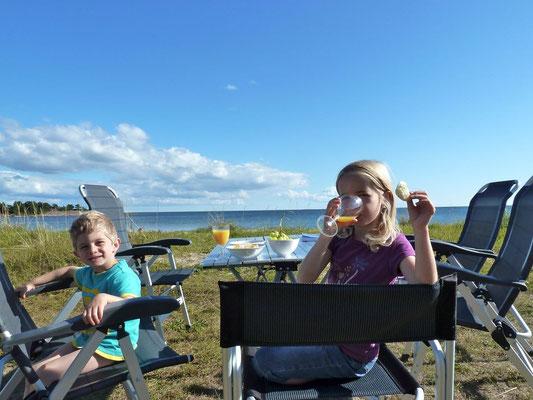 Camping Degersand auf Eckerö