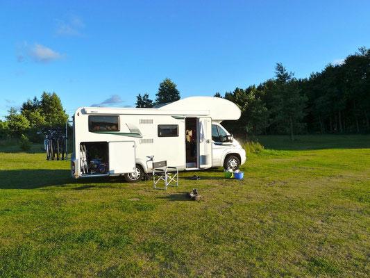Sandösund Camping auf einer der fünf Hauptinseln Värdö
