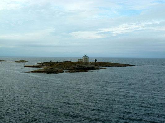 Zurück auf das schwedische Festland