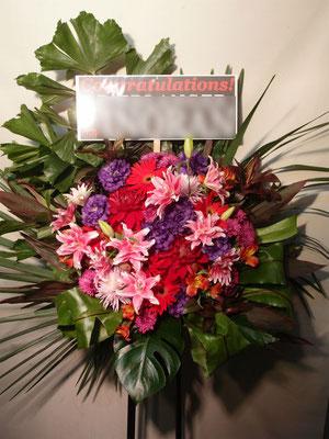 格好良いイメージスタンド花東京都23区送料無料。ロックバンド公演向き